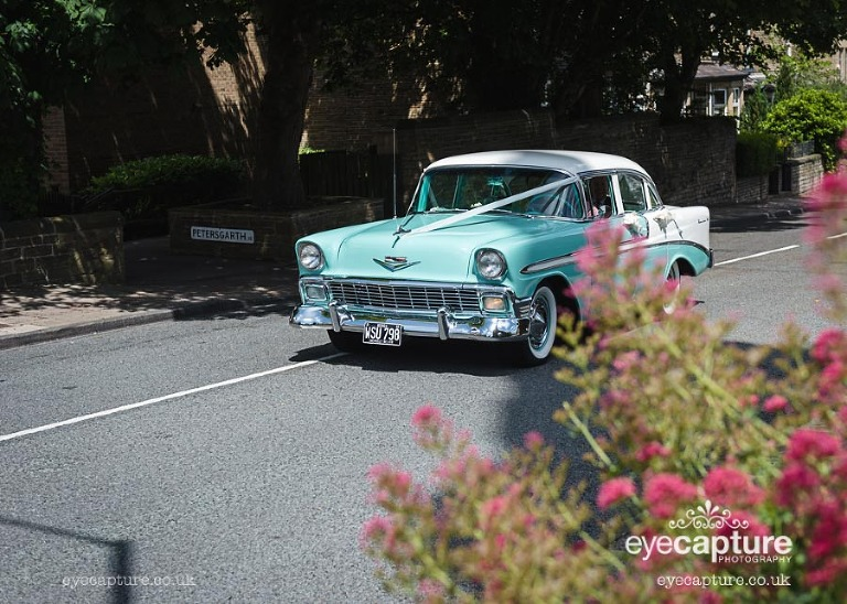 chevrolet wedding car yorkshire