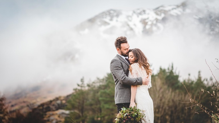 Natural wedding photography in the Lake District