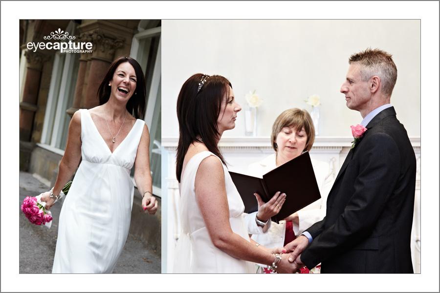 Documentary wedding photographers harrogate at bilton house