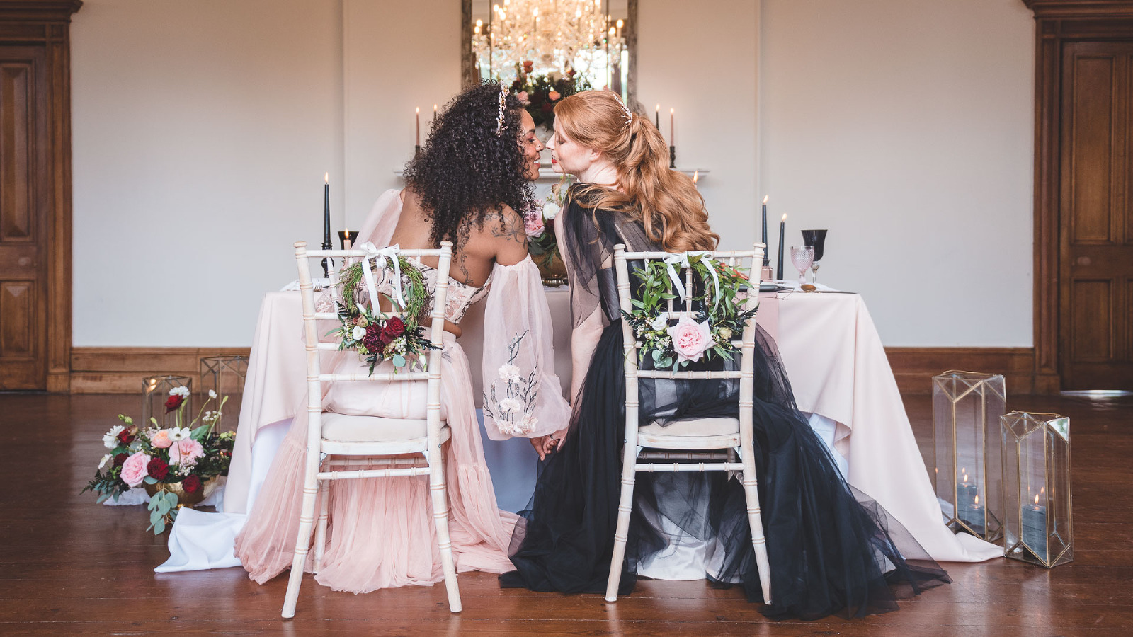 a natural wedding photograph by yorkshire wedding photographer at thicket priory