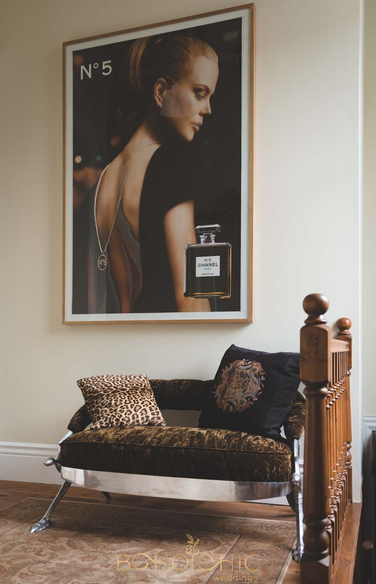 chanel no5 poster at the chapel harrogate