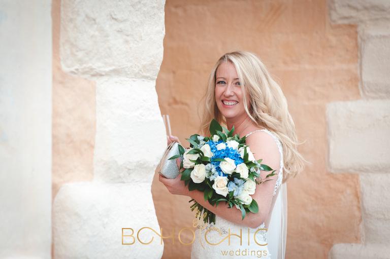 talbot hotel malton wedding showing the bride at York House