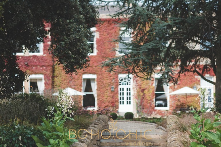 bowcliffe hall photograph taken in the autumn 2018