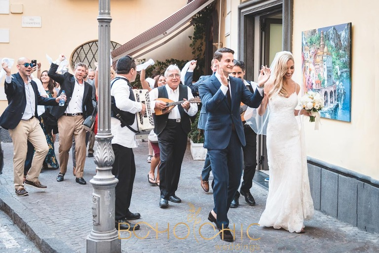 destination wedding photography in sorrento italy by catherine at boho chic weddings