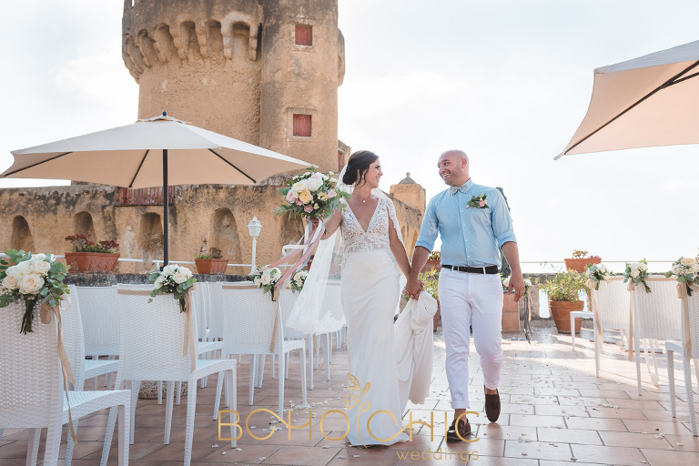 wedding photography in Italy at Torre Perrotti Santa Maria