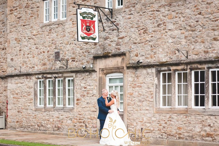 wedding photography at the Devonshire Arms hotel in Bolton Abbey